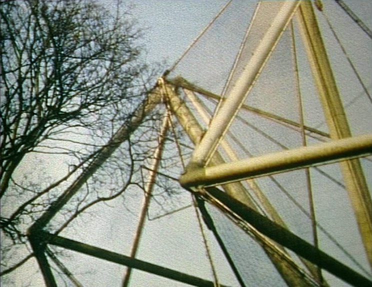Snowdon Aviary, 8mm film transferred to DV, 2min loop, 2013